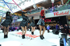 Westfield Stratford: one of three shopping centres opened in 2011