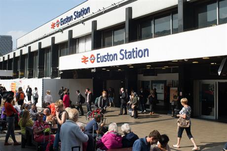 Euston's revamp provides an opportunity for a major mixed use development (PIC Network Rail)