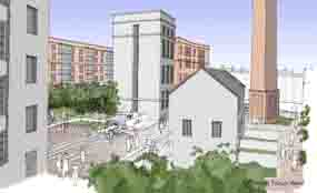 Aberdeen: plans submitted for heritage-led regeneration (picture by Halliday Fraser Munro)