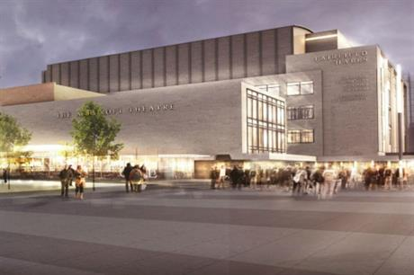 Croydon's planned public space will complement its Fairfield Halls, which is due to reopen in September following refurbishment and expansion