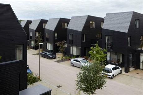 Alison Brooks' Harlow scheme higher density allows for added value extras (PIC Alison Brooks Architects)
