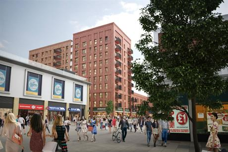 Regeneration is bringing new homes, retail and leisure to Farnborough (PIC Lyons+Sleeman+Hoare Architects)