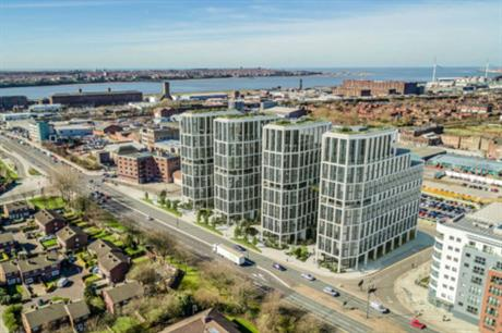 Freemasons' towers combine homes, resident amenities and commercial space (PIC Vinco Group)