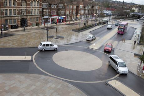 The transport and public realm improvements at Frideswide Square in Oxford