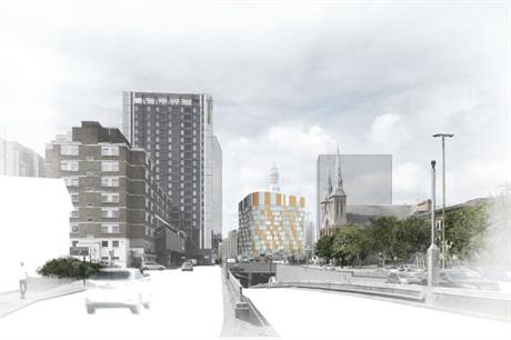 The planned Great Charles Place project in Birmingham