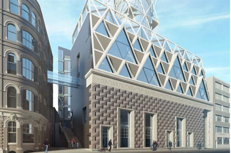 Commercial development would help support provision of the theatre and rehearsal rooms