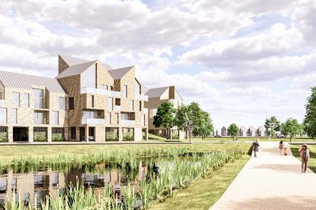 Stolon's scheme at Shoeburyness incorporates four levels of flood mitigation (PIC Stolon Studio)