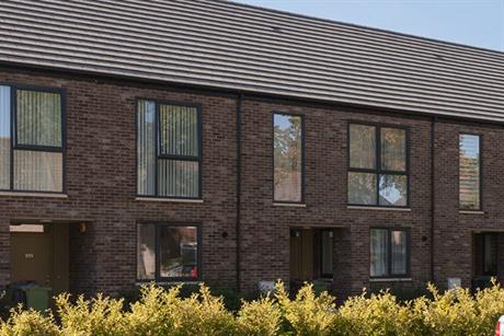 The new streets of terraced housing (PIC Stitch Studio)