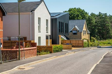 Homes at Graven Hill in Bicester, the UK's first large-scale self build development (PIC Jim Tanfield at Inscope Imaging)
