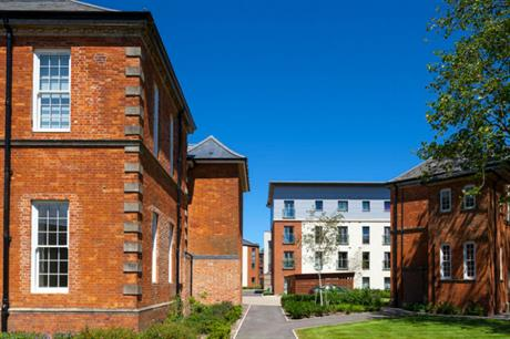 Energy efficiency is integrated into both new builds and historic conversions at the Graylingwell hospital site (PIC JTP)