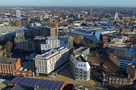 Great Central Square has become part of the Leicester cityscape (PIC Morgan Sindall Construction)
