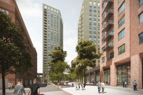 The Guiness Partnership's combined scheme in Bromley-by-Bow will form part of a broader area regeneration