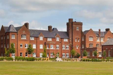 A range of uses was incorporated into the Fairmile hospital site in Oxfordshire (PIC JTP)