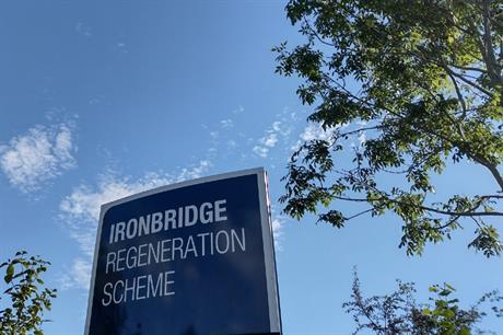 Developer Harworth Group has brought forward proposals for the 141 hectare Ironbridge site (PIC Josephine Smit)