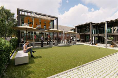 Revolution Architecture's design for Kingmoor Park's ModVillage (PIC Revolution Architecture/Prospus Group)