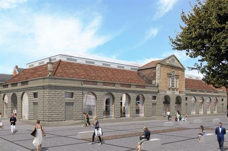 Town Deal funding could be used to help upgrade Lincoln's Central Market (PIC City of Lincoln Council)