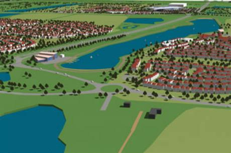 Lincolnshire Lakes' homes will be developed in a string of waterside villages (PIC North Lincs Council)