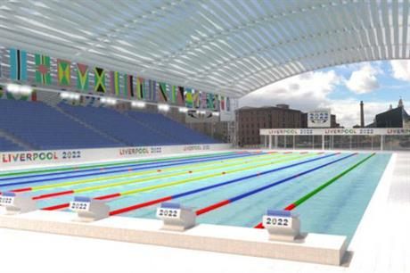 Liverpool aims to develop a city centre pool for games and legacy use