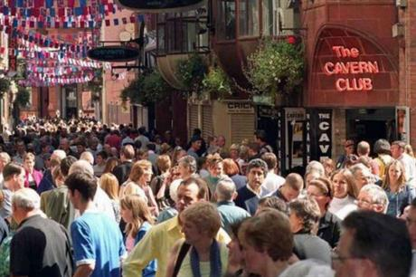 Liverpool City Council wants to enhance tourism potential around the Cavern Club (PIC Liverpool City Council)