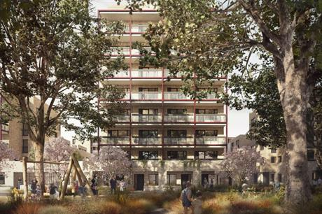 The latest phase is planned around a green infrastructure of tree lined streets, park and green spaces (PIC Mae Architects)