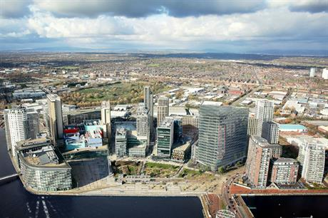 MediaCityUK has backing in place to support development over the next decade