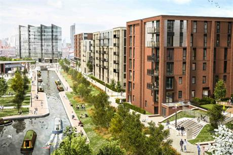The Middlewood Locks canal basin scheme is expected to ultimately have 2,215 homes plus commercial space