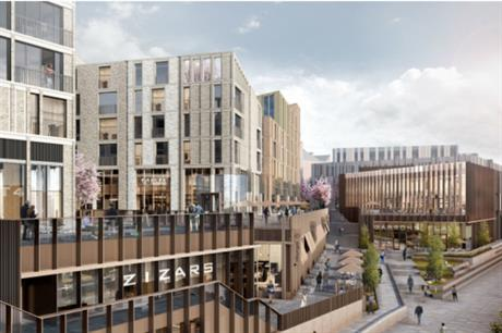 Zone one of Milburngate is set to have homes, a cinema, and commercial and leisure space