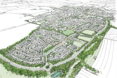 St Modwen is set to deliver up to half of the 1,500 homes planned for the Crab Hill community (PIC OPEN)