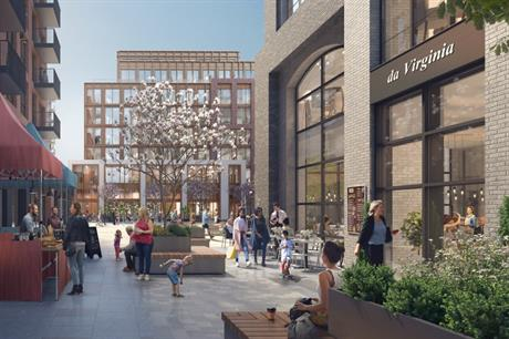 The connecting streets and open spaces of the Nicholsons Quarter design (PIC JTP)