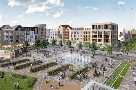 Tibbalds' design code for Northstowe sets the plan for contemporary urban neighbourhoods within easy reach of the new town centre