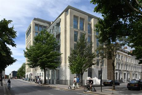 Pilbrow & Partners' design for 344-350 Old Brompton Road transitions in height to marry its historic and contemporary contexts (PIC Pilbrow & Partners)