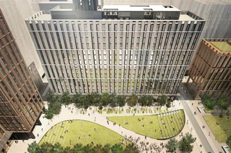 Manchester's pipeline includes the mixed use Circle Square, which is being developed by Bruntwood and Select Property Group (PIC Bruntwood)