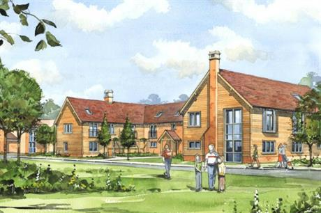 A new hospice is part of larger plans to develop 600 homes in Pease Pottage (PIC JTP)