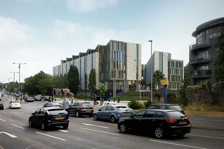 The Benedicts Gate development, in Norwich, will provide 302 student bedspaces (PIC Alumno Group)
