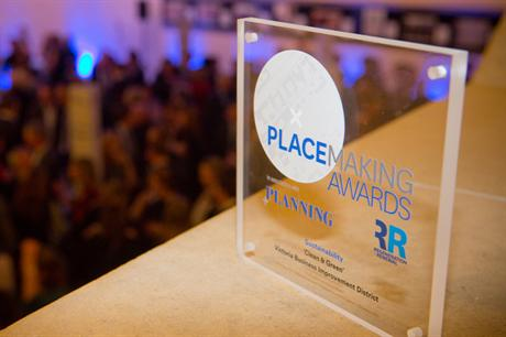 The Placemaking Awards take place on 31 March