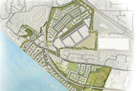 The regeneration will make the most of Purfleet's location, beside the river Thames, and provide homes and employment