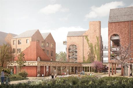 Retirement Villages Group and RCKa have submitted plans for a highly sustainable scheme in Chester (PIC RCKa)