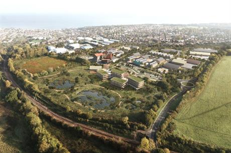 Ryde's proposed business park aims to promote regeneration and growth while recognising and enhancing its rural setting (PIC RCKa)