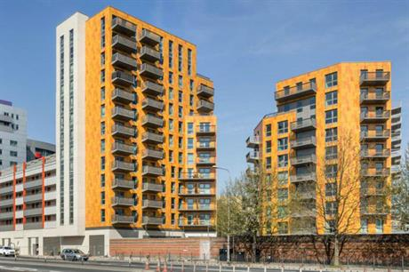 Canning Town's Rathbone Market is a residential-led scheme