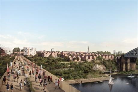 There are plans to develop 1000 homes at Riverside Sunderland (PIC Riverside Sunderland)
