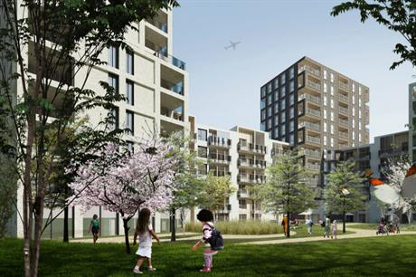 CF Moller's design forms the third phase of the Blackwall Reach development