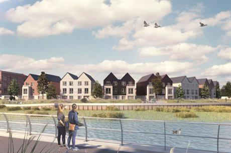 Housing associations behind Evera include Hyde Group, which is working on Rochester Riverside in Kent