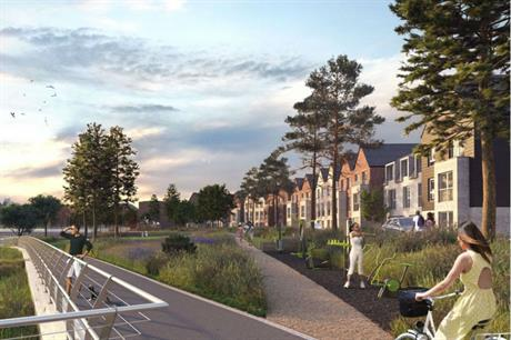 The Rochester Riverside development will build on connections to the riverfront (PIC HTA)