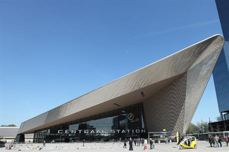 Rotterdam Central Station (Picture by Rick Ligthelm)