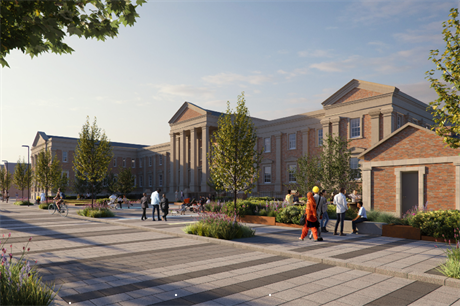 Wolverhampton Royal Hospital's main building will be converted to apartments for the over 55s