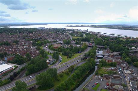 Runcorn's masterplan and delivery strategy will cover the station area (PIC Halton Borough Council)