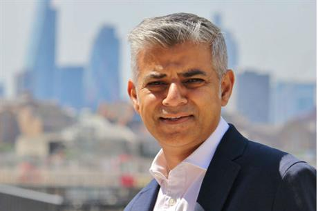 Sadiq Khan says he is using his first draft London Plan to tackle the housing crisis
