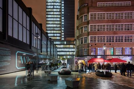 Events are bringing life to the new Sadler's Yard (PIC Adrian Lambert)