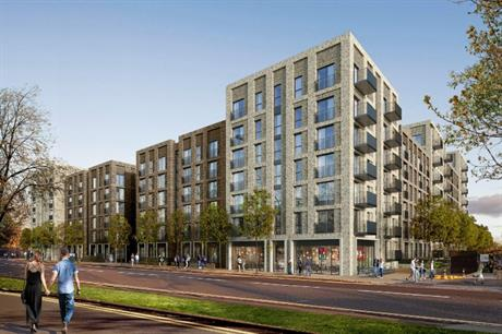 Salford Riverside will provide a range of homes from studios to three bed apartments (PIC Darling Associates)