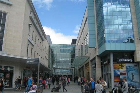 Spaces were protected in the revamp of Drake Circus (PIC Haskoll)